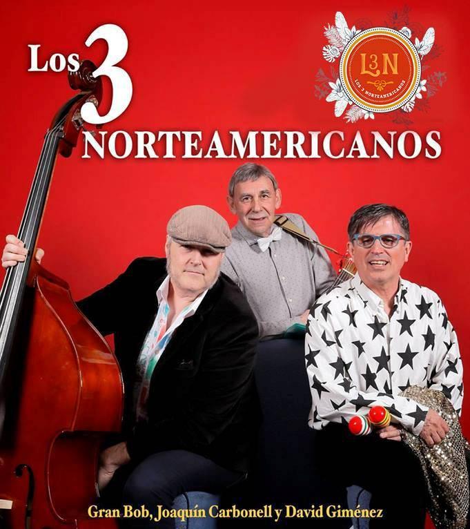 Los 3 norteamericanos Live 2016 in San Martin