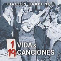 1 vida & 19 canciones disco portada 2014 Joaquín Carbonell
